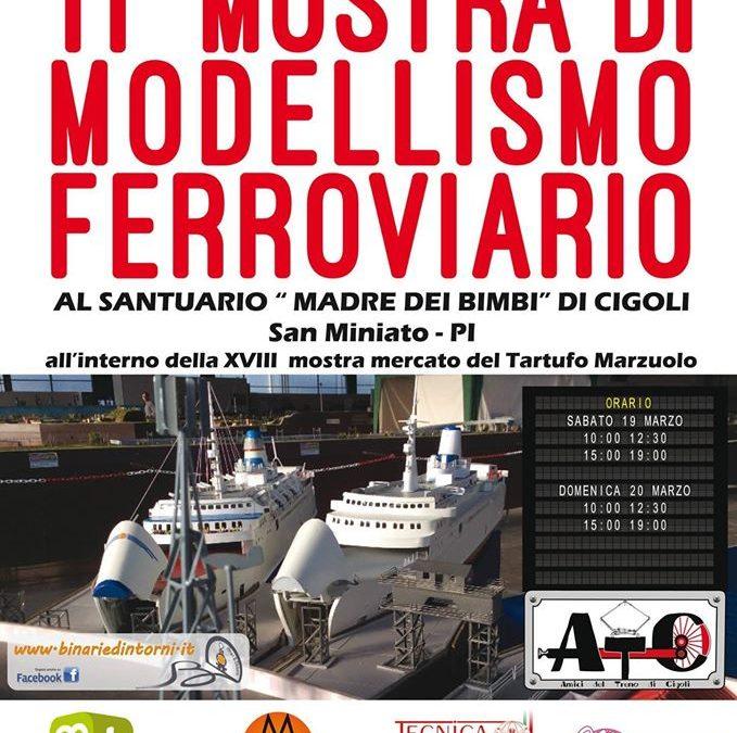 EVENTI | Tecnica Futuro sponsor partner della Mostra Modellismo Ferroviario 2016 (Cigoli – Pisa)