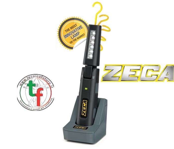 ZECA lancia la nuova lampada che illumina piegandosi senza spezzarsi!