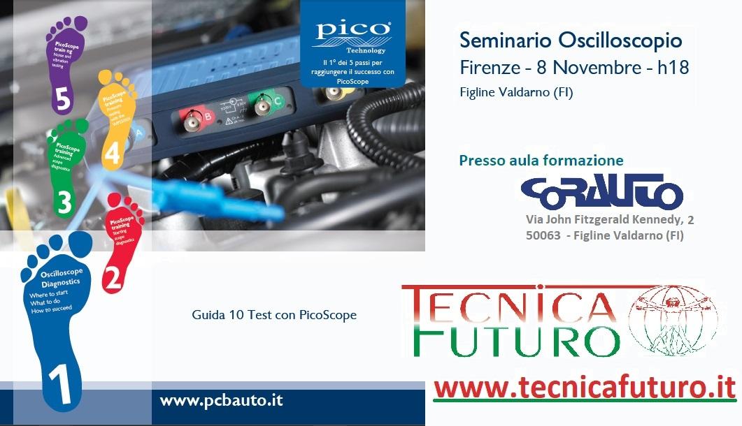 FORMAZIONE | Il giorno mercoledi 8 Novembre 2017 (ore 18-20) Seminario Oscilloscopio Pico