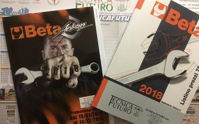 NEWS   Disponibili i cataloghi Beta Utensili 2018 e Promo Beta Action 2018