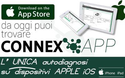 NOVITA'   BRAIN BEE – Nasce Connex App: la prima autodiagnosi realizzata per dispositivi iOS
