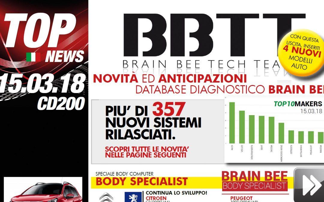 TECH-NEWS | Rilasciata la versione +200 per la linea diagnostica Brain Bee