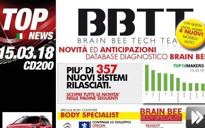 TECH-NEWS   Rilasciata la versione +200 per la linea diagnostica Brain Bee