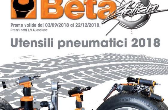 PROMO | Beta Utensili lancia la promozione Action Pneumatica 2018, c'è tempo fino a Natale!