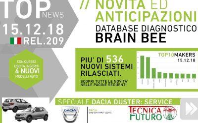 NEWS | Online aggiornamento Release +209 per Brain Bee, ecco il programma