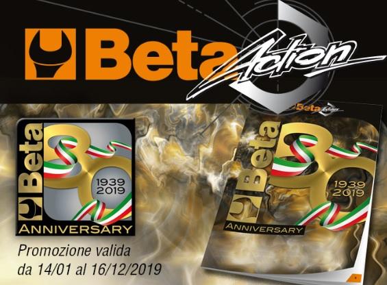 PROMO | Tecnica Futuro presenta il BETA ACTION, per l'Anniversario degli 80 anni di Beta Utensili