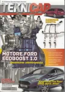 VOLUME 15 - Motore Ford Ecoboost 1.0 gestione elettronica