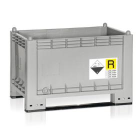 Contenitori per stoccaggio batterie e prodotti contaminanti