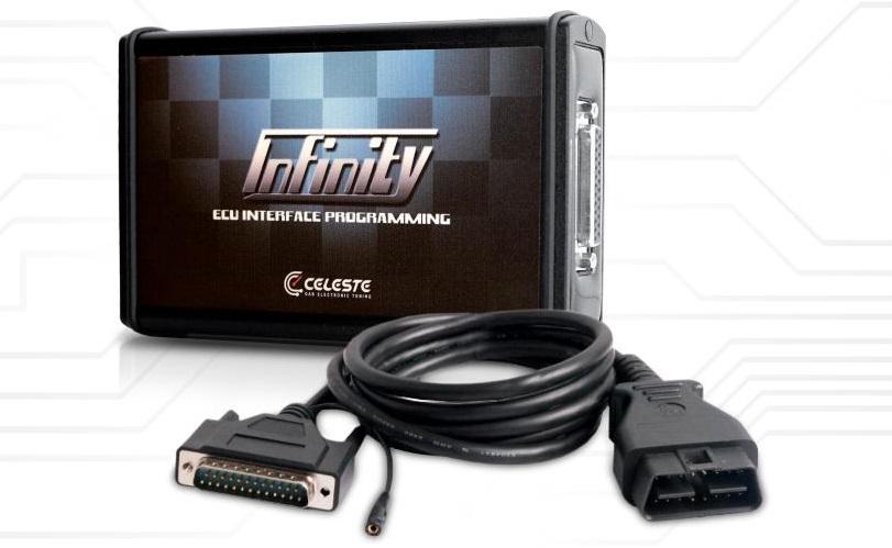 Programmatore Centraline Infinity Elettronica Celeste
